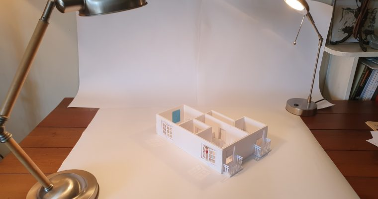 Design Process of: A White Card Maquette