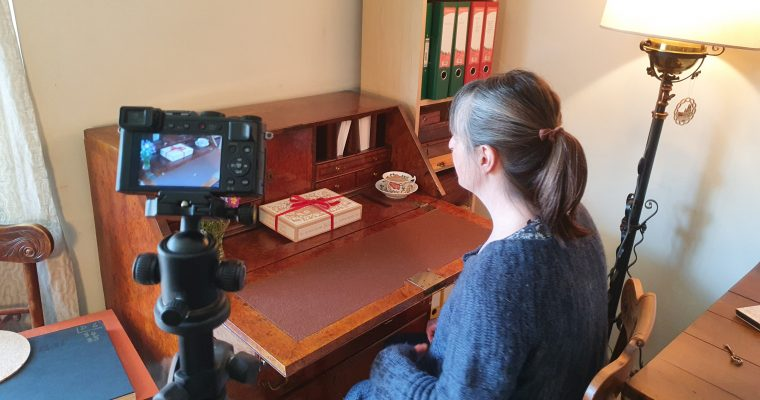 Filming Process of: Eliza's Ephemera