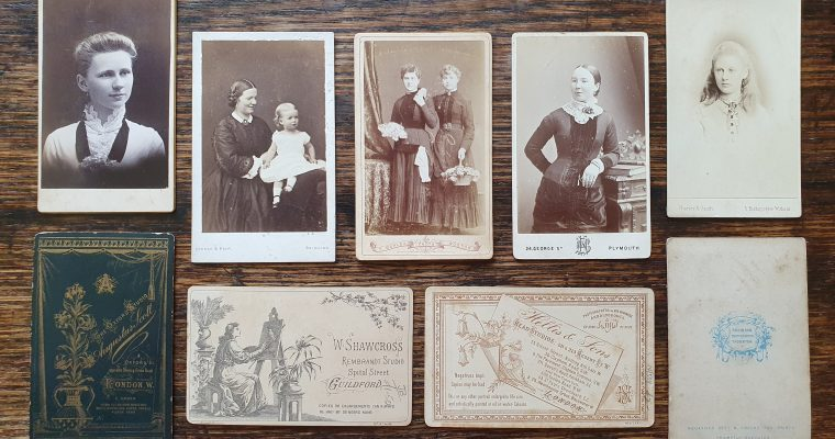 What is a Carte de visite? (1850 – 1910)