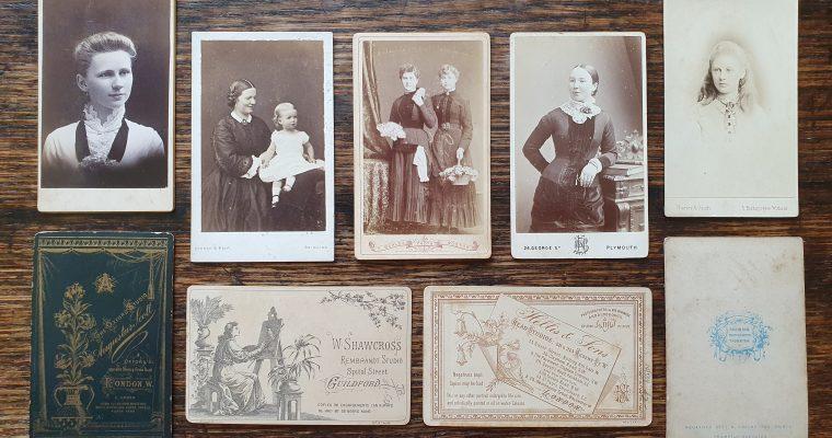 What is a Carte de visite? (1850 – 1910)