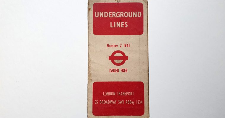 London Underground Map (1941)