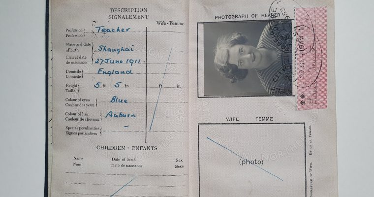 Miss Catherine Elaine Stewart's Passport (1933)
