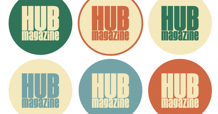 Design Process of: The HUB Magazine Logo
