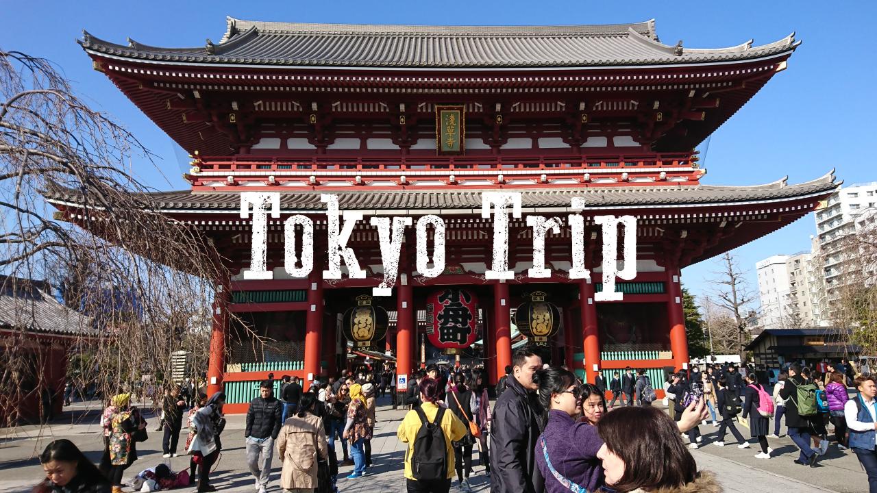 Tokyo Trip Thumbnail