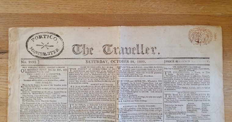 A Real Duel Told In The Newspaper (1809)