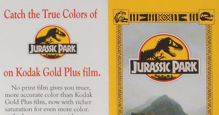 The Jurassic Park Brochure