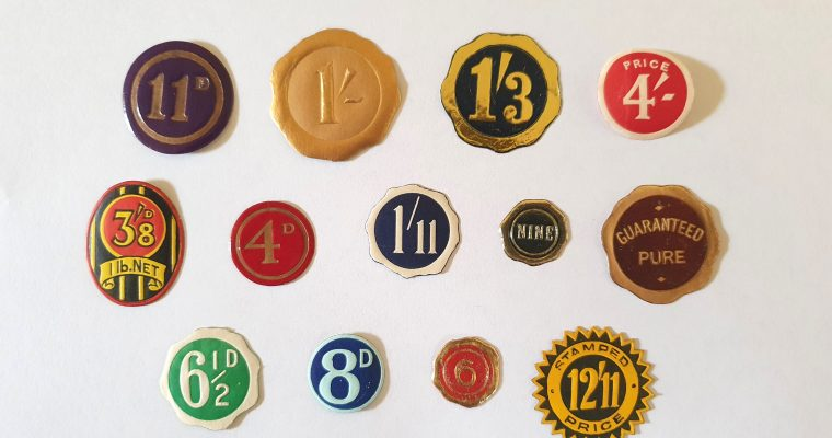 Vintage Pricing Lables (1930s)
