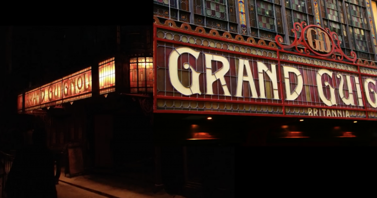 The Grand Guignol Theatre Signage