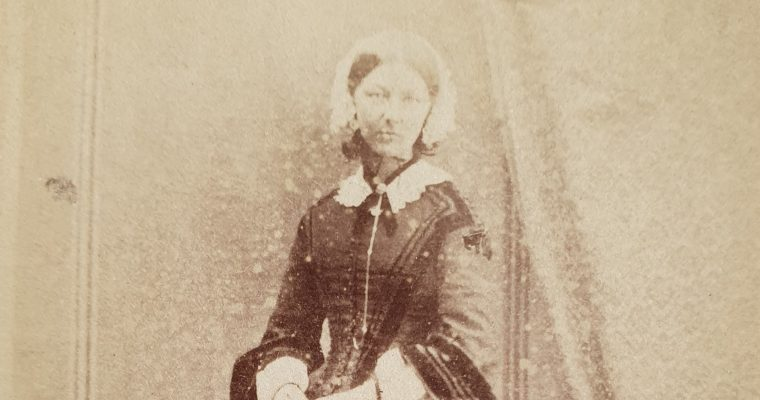 Florence Nightingale CDV (1858)