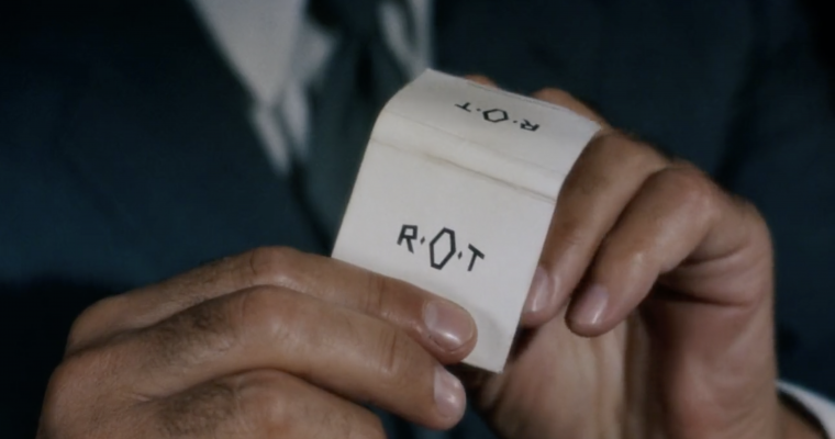 The R.O.T Matchbook From North by Northwest