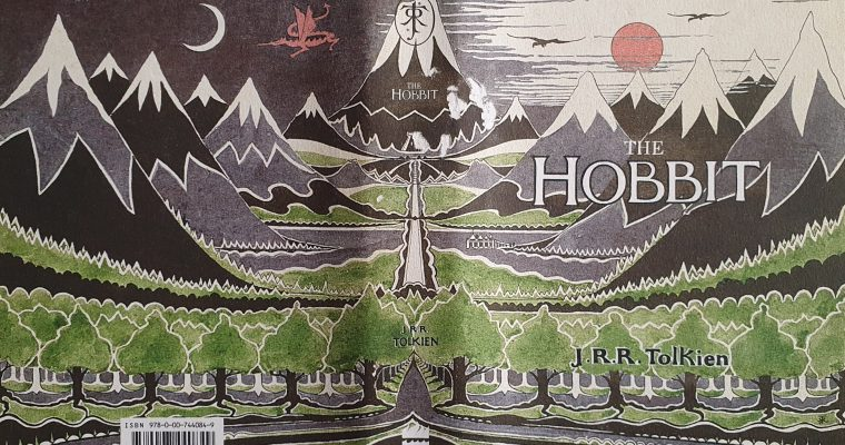 The Hobbit Dust Jacket Artwork By J.R.R. Tolkien