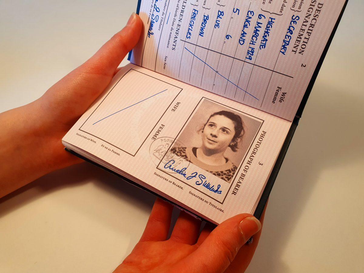 Amelia 1950s Passport