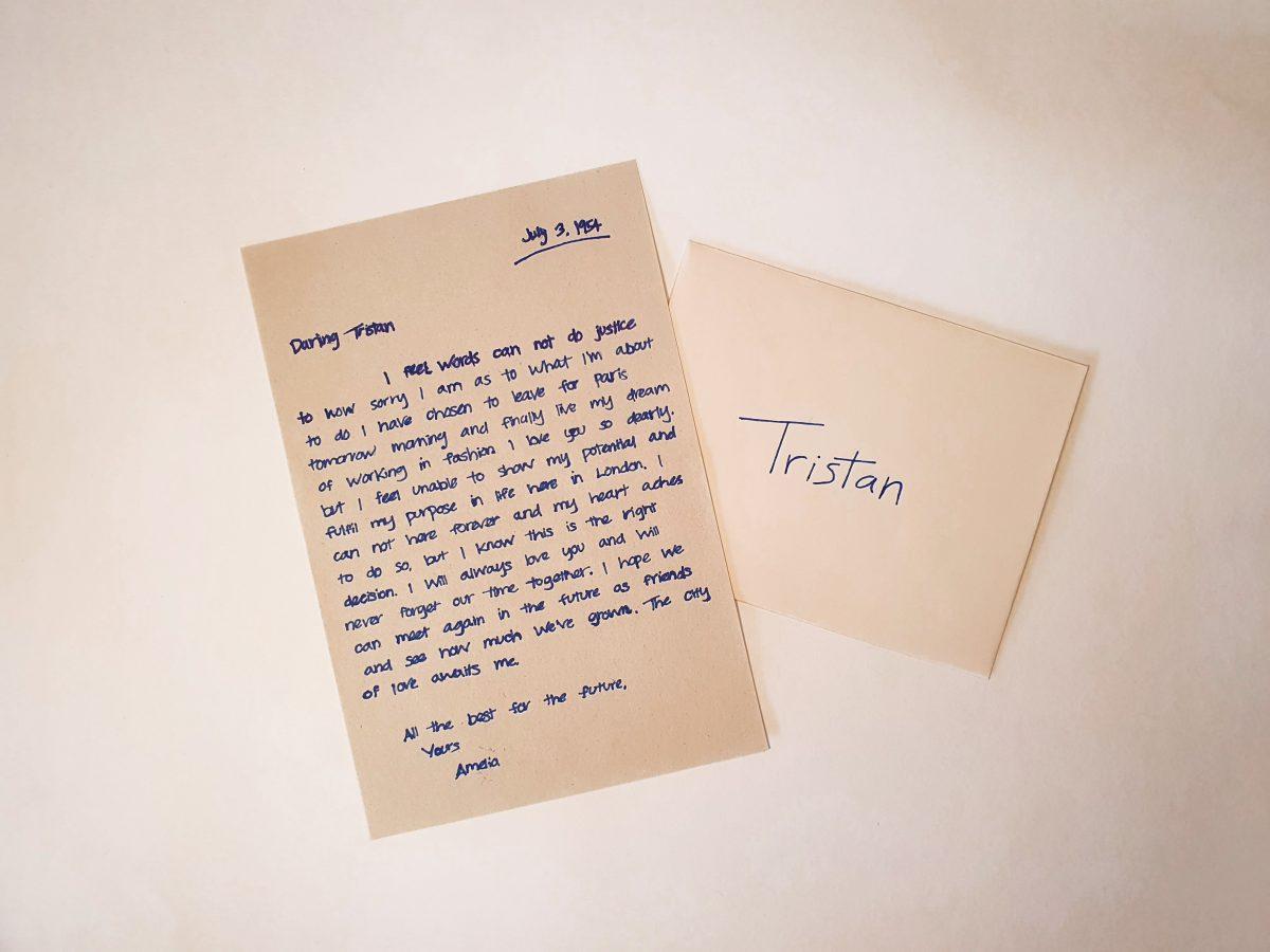Amelia Letter To Tristan
