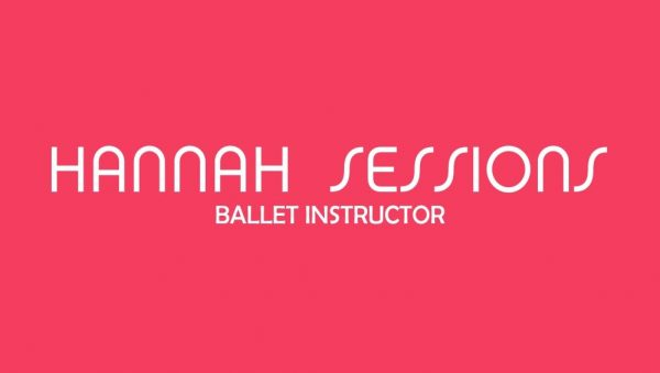 Ballet Be Fit Hannah Sessions Busness Card Front