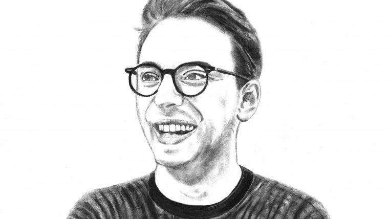 Jack Howard - Charcoal Drawing
