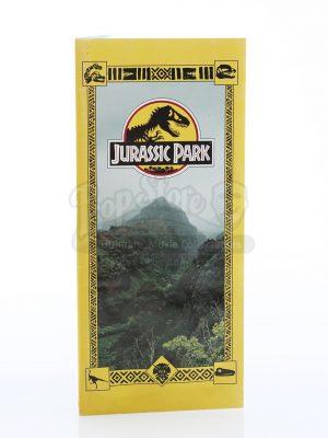 Jurassic Park Brochure Cover
