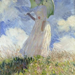Monet 'Woman with Parasol'