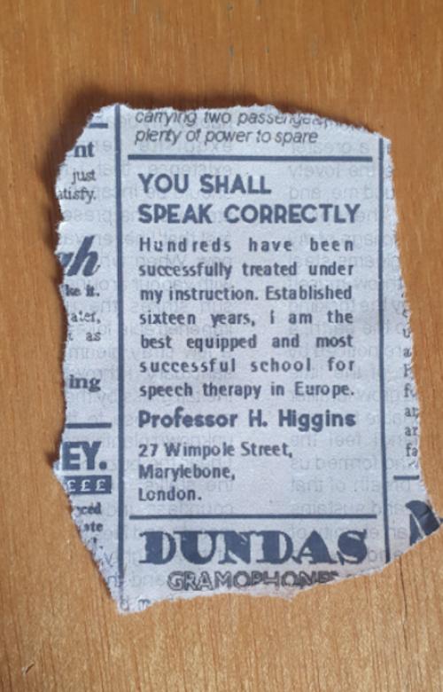Newspaper Clipping Tear Test 1